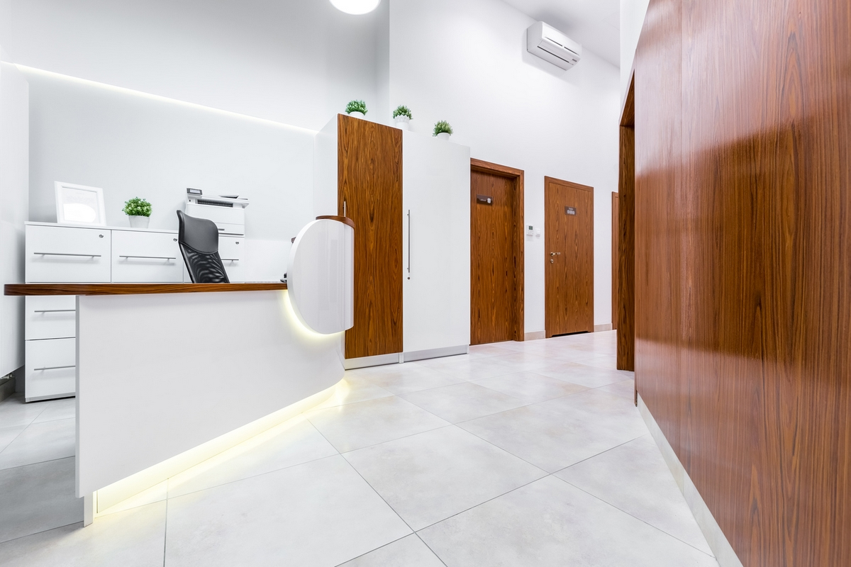 REXWALL® reception clinique